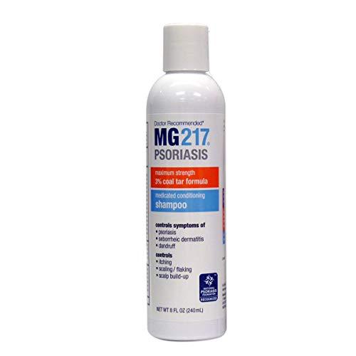 MG217 Psoriasis Medicated Conditioning 3% Coal Tar Shampoo 8 Fl Oz