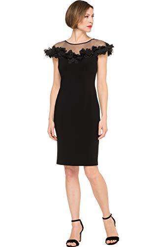 Joseph Ribkoff Black Dress Model Style 191305 (22)