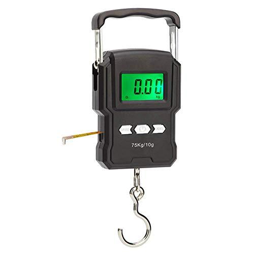 Básculas de peso Báscula electrónica para colgar 75kg 10g