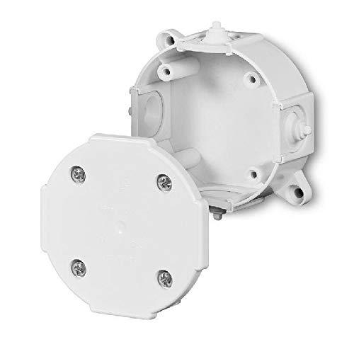 Abzweigdose Verteilerdose IP41 weiß 80x80x33 Aufputz Verbindungsdose