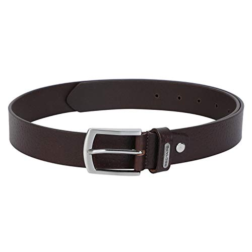 Red Tape Men Brown Leather Belt