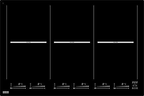Franke FHMT 806 3FLEXI INT 108.0379.466 Kochfeld/6,78 cm/Steuerung Slider mit weißer Unterbeleuchtung und direkter Auswahl