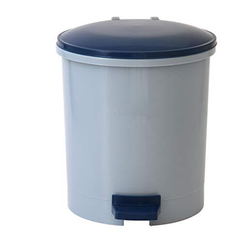 LRZLZY Pedaal-type plastic vuilnisbak huishouden met deksel vuilnisbak/reiniging emmer/papieren mand