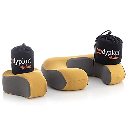 DYPLON Modus | Almohada Modular Multiusos| Ortopédica | Almohada Cervical | Memory Foam | Fundas de Algodón | Transpirable | Antibacterias, Antiácaros, Antimoho
