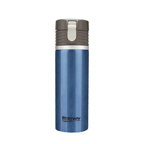 Creative Light- Acier Inoxydable de Tasse de Voiture électrique de Mode 12V / 24V matériel bouillant la Coupure Automatique d'isolation de Bouteille d'eau Chaude de Trou d'évent