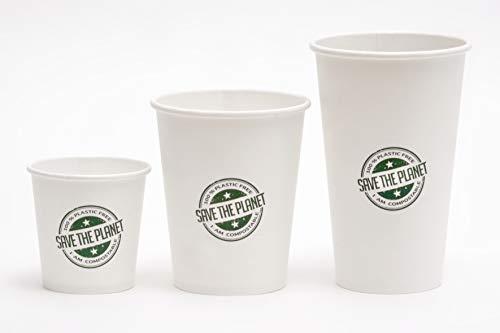Needo Bicchieri Monouso Biodegradabili per Bibite e Birra - Ecologici, Compostabili, Plastic Free (500 pezzi 12oz/360ml)