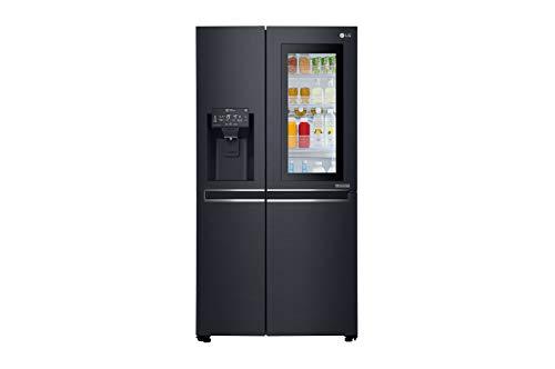 LG GSX960MTAZ frigo américain Autonome Noir 601 L A++ - Frigos américains (Autonome, Noir, Américain, LED, LED, Verre)
