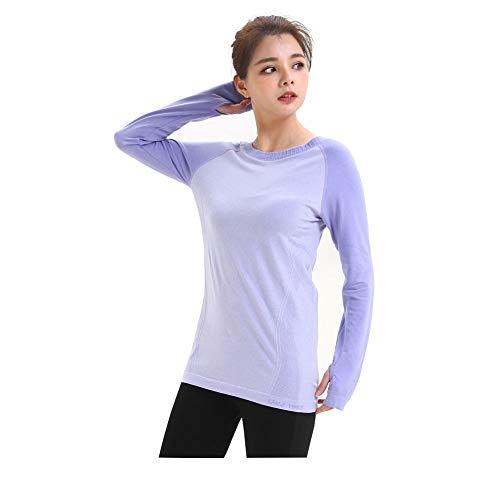 LWJ 1982 Long Sleeve Workout Yoga Tops Running Hiking Shirts