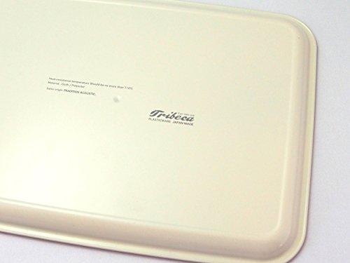 トラディションアコースティックトレイグレー36×27×1.6cm(外寸)TRIBECAPLATRAYノンスリップ加工TTT00964