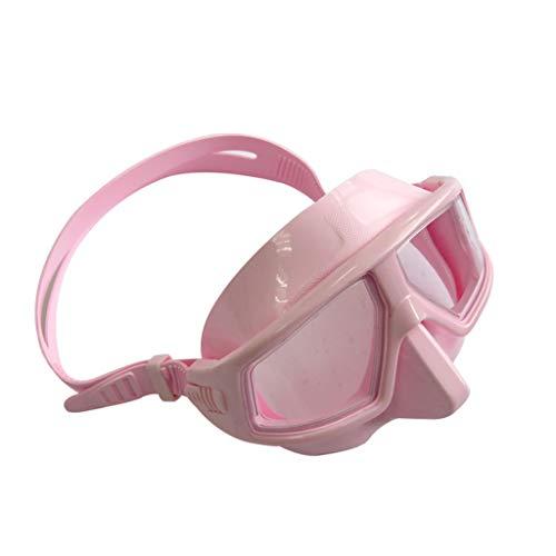unkonw Gafas de buceo gratuitas ajustables antivaho impermeable Snorkeling buceo máscara gafas gafas