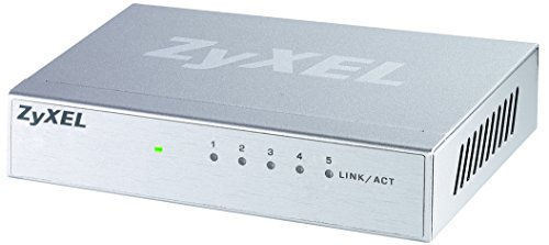 ZyXEL GS-105Bv2 Gigabit Ethernet Switch für Desktop (5-Port)