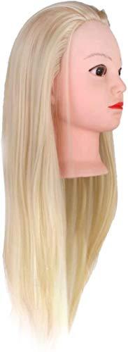 Mannequins de couture reglable 20 '' Hair Styling Practice Head Formation Mannequin Mannequin Hat Modèle d'affichage Porte vêtement Mannequin