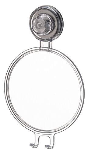 Future Espelho Antiembacante Natural com Ventosa, Cinza Transparente
