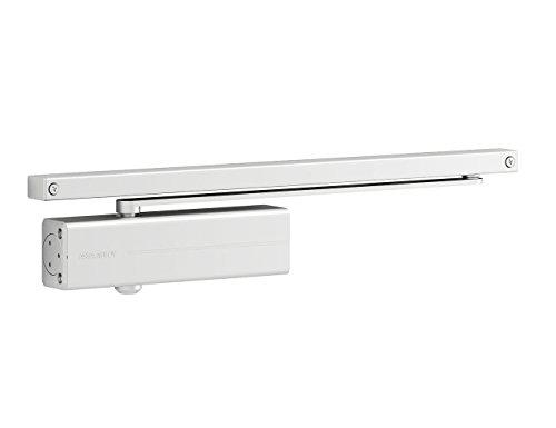 Tesa Assa Abloy DC135-D9016 Cierrapuertas Con Guia Deslizante Para Puertas, Blanco