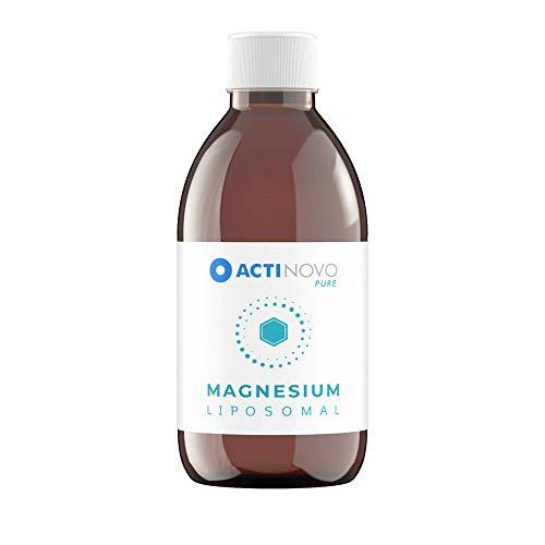 Liposomales Magnesium | Sanddorn PURE 250 ml | hochdosiert | Muskeln & Psyche | Tagesdosis 200 mg Magnesium | hohe Bioverfügbarkeit | flüssig | ohne Zusätze | vegan