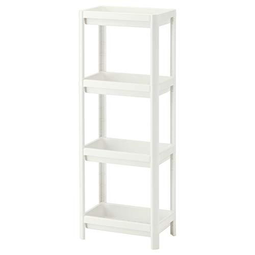 IKEA ASIA VESKEN Regal weiß