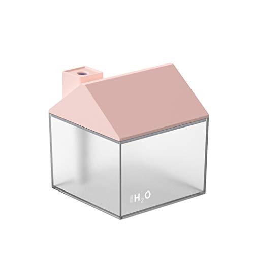 HEG Creativa de Tres-en-uno USB Pequeña Casa humidificador con batería portátil de Escritorio del hogar de Superficie Silencio Mini Noche Humidificadores (Color : A)