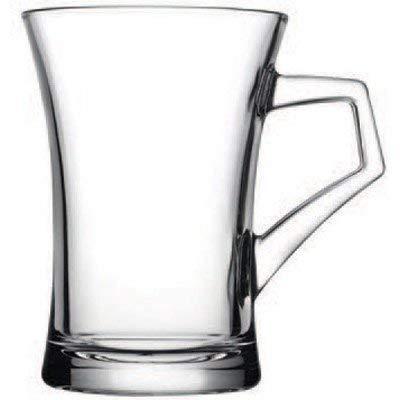 Henkelglas, Teegläser mit Henkel im Set, 120cc, 6 Stück, Azur Style von Pasabahce
