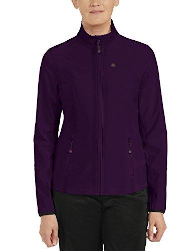 Maier Sports Damen Softshelljacke Cora, Potent Purple, 36, 260779