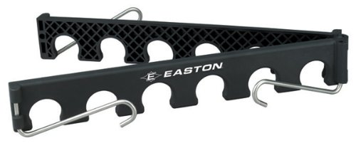 EASTON ULTIMATE Baseball / Softball Bat Fence Rack | 2020 | Attaches Easily To Any Fence And Organizes Players Bats | Holds 12 Bats | Collapsible For Easy Transport | Lightweight And Durable
