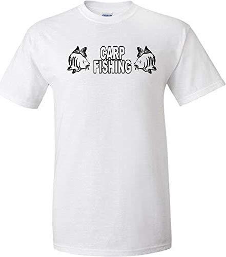 veedub clothing Carp - Camiseta de pesca con 2 peces