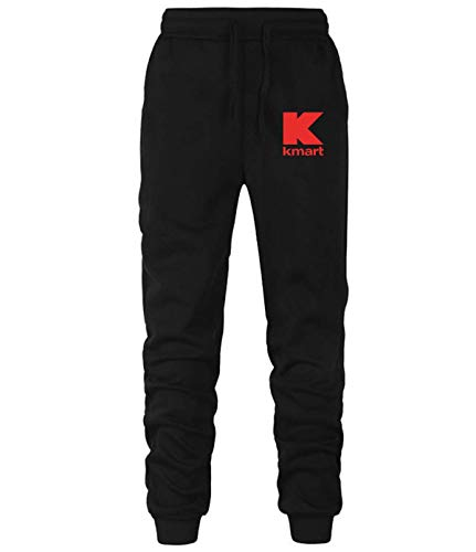 beidiyinger kmart Men's Loose fit Sweatpants Jogging Pants Black