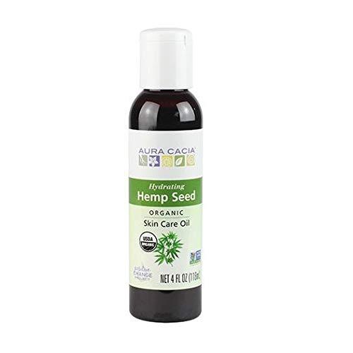 AURA CACIA Hemp Seed Oil, 118 ML