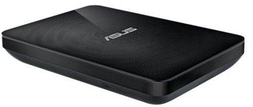 Asus Wireless DUO externe Festplatte 500 GB (6,4 cm (2,5 Zoll) 5400rpm, 8MB Cache, USB 3.0) schwarz