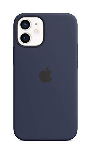 Apple MagSafe対応 シリコーンケース (iPhone 12 mini用) - ディープネイビー