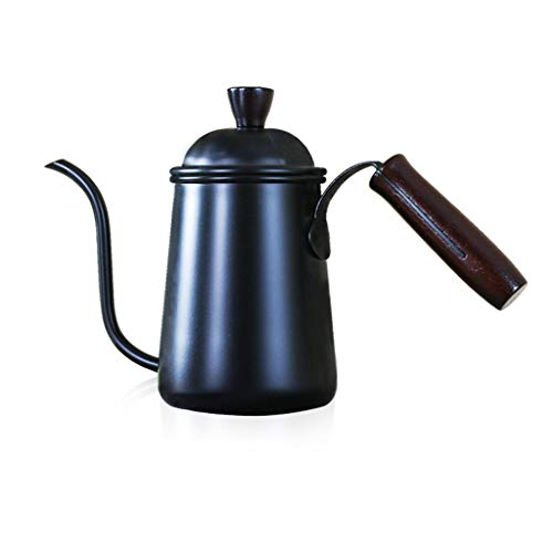 Caño de cuello de cisne Cafetera Máquina de café Punch a mano ...