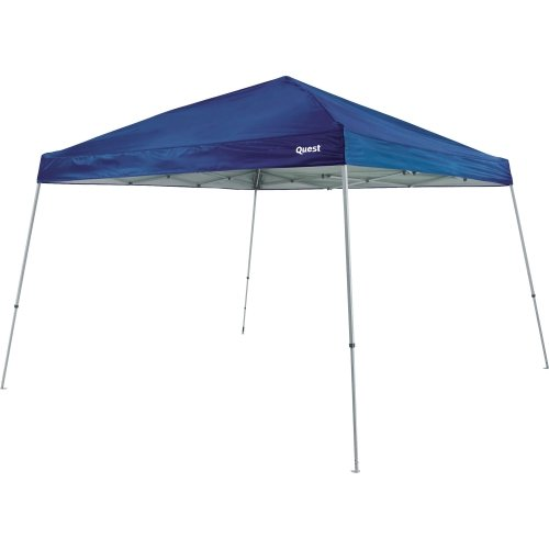Quest 10 Ft. X 10 Ft. Slant Leg Instant Ez up Pop up Recreational Tent Canopy (Royal Navy)