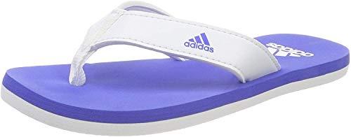 adidas Beach Thong 2 K Scarpe da Spiaggia e Piscina Unisex bambini, Multicolore (Ftwwht/Hirblu/Ftwwht Cp9378),30 EU