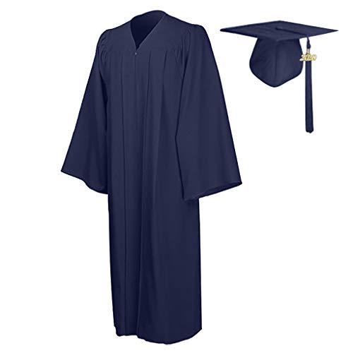 Smonke 2 Stück Student Graduation Hat Dress 2020 Charm Anhänger Anzug für die Abschlussfeier für die Abschlussfeier oder als Chorgewand