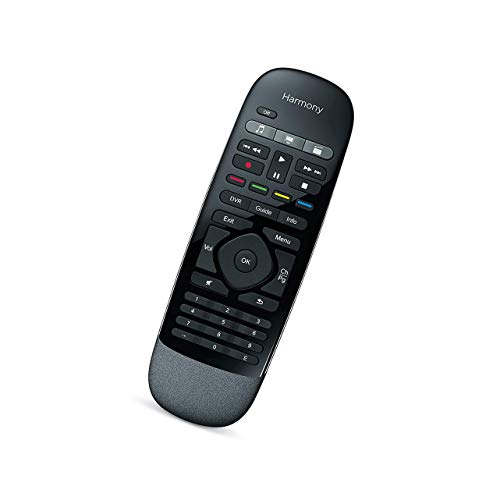 Rssotue Logitech Harmony Smart Controller with Smartphone App and Simple One-Piece Remote Control - Black