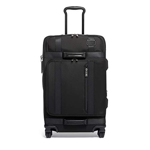 TUMI - Merge Short Trip Expandable Packing Case Medium Suitcase - Rolling Luggage for Men and Women - Black
