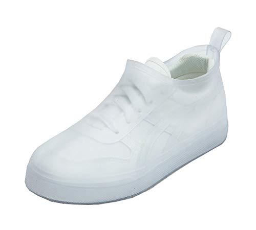 Chaussures imperméables simples couvrent la couverture antidérapante imperméable, transparente
