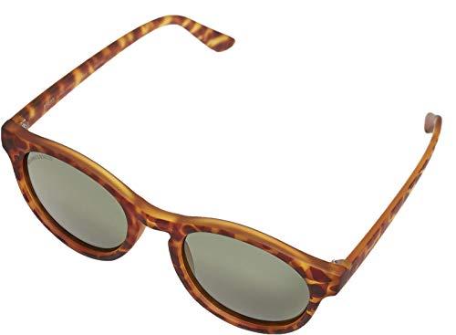Urban Classics Sunglasses Sunrise Uc, Gafas Unisex Adulto, Leopardo Marrón/Verde, One Size