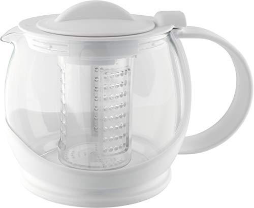 Café Olé Loose Tea Infuser Tea Pot with Shut Off Locking Mechanism