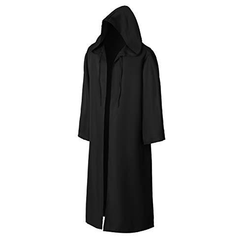 EONPOW - Kostüm-Mäntel, Umhänge & Flügel für Erwachsene in Schwarz, Größe X-Large-Erwachsene
