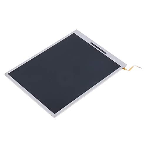 kesoto Ecran LCD De Remplacement Pour écran Inférieur Et Inférieur Pour La Nouvelle Console De Jeu 2DS XL LL De Nintendo - Noir