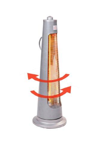Firefly 900 Watt Oszillierender Infrarot-Heizstrahler (Quarz) Terrassenheizung, freistehend, 2 Leistungsstufen - 5