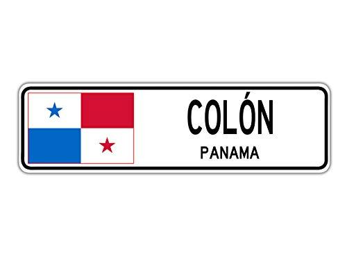 TammieLove Col ̈®n, señal de calle Panamá bandera de Pan