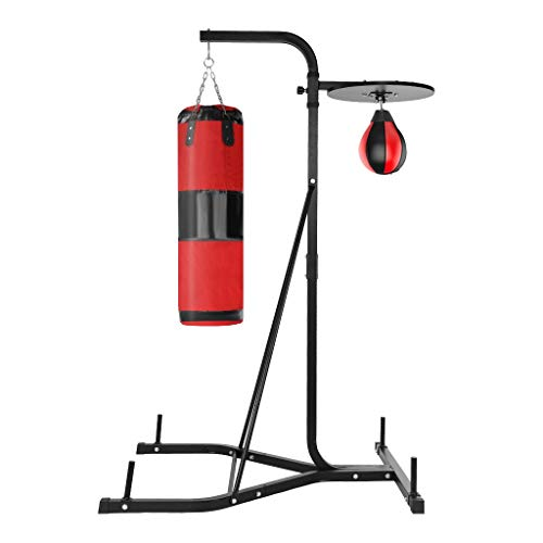 RDTIAN Sports Tools, Heavy-Duty Boxing Punching Bag Rack Free Standing Boxing Bag for Home Fitness...