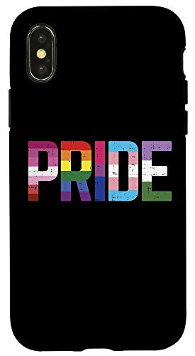 iPhone X/XS Pride LGBTQ Lesbian Gay Bisexual Trans Genderqueer Nonbinary Case