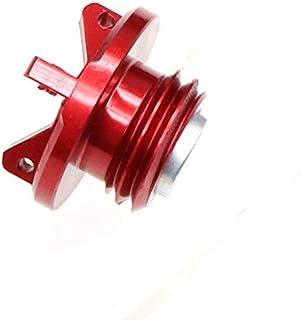 FairOnly Universal Motorrad Motoröl Kappe CNC Einfülldeckel für KAWA SA KI z800 z1000 ZX 6R rot Komfortables Leben