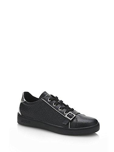 Guess Damen Sneaker Gio schwarz, Schwarz - Schwarz - Größe: 38 EU