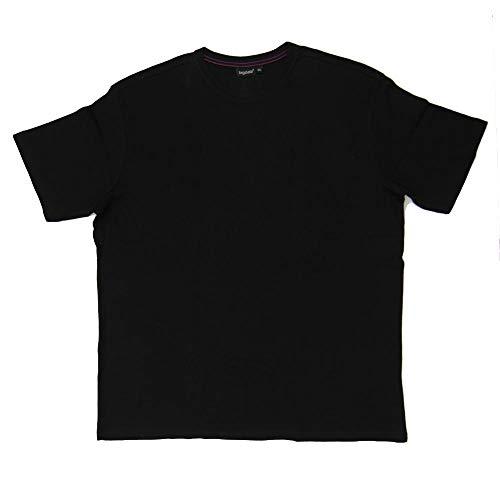 Bigdale - Super Premium Bigsize T-Shirt/Deep Black, 10XL