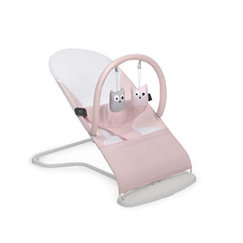 Innovaciones MS 1115 - Hamaca Para Bebé Lullaby - Plegable Y Portatil 2 En 1 Mecedora Y...