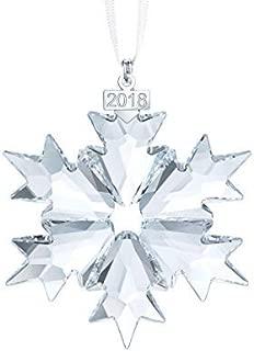 Swarovski Annual Edition 2018 Sparkling Clear Holiday Christmas Ornament