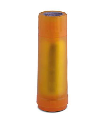ROTPUNKT Isolierflasche 40 MAX 0,75 l   Zweifunktions-Drehverschluss   BPA Frei- gesundes Trinken   Made in Germany   Warm + Kalthaltung   Glaseinsatz   Glossy Gold